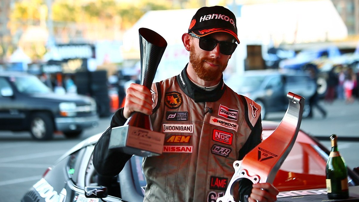VOODOO 13 USA & Chris Forsberg get 1st place and the points lead in the Formula Drift Championship