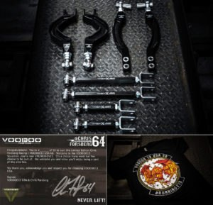 Limited Edition S13 and S14 CFR Voodoo 13 Adjustable Arm Set Now Available for Pre-Order