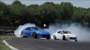 Chris Forsberg Puts our Voodoo13 Angle Kit to use in his turbo charged 370z street car