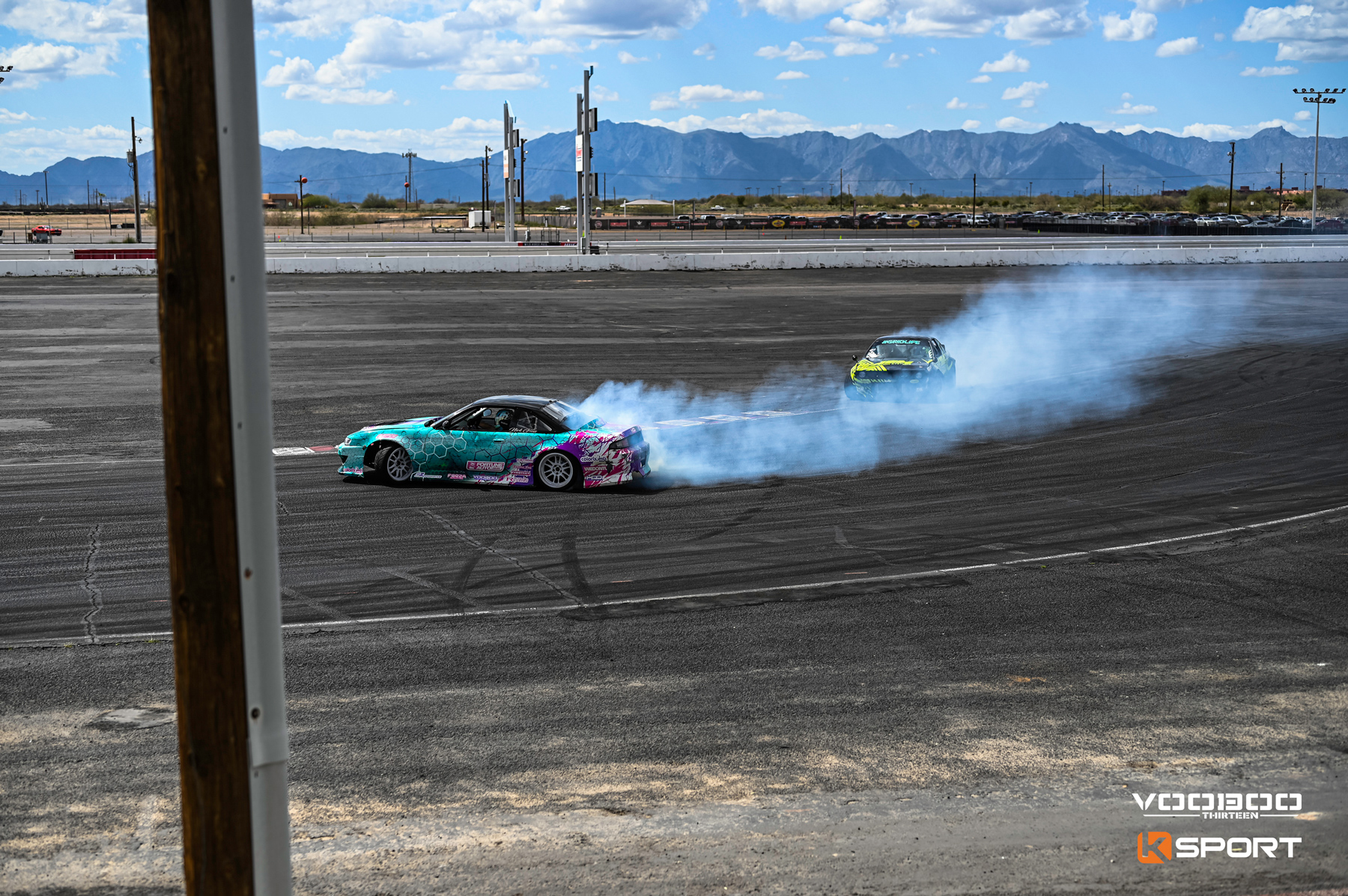 Voodoo13 USA and Sponsored Driver, Nick Gross at Import Face-Off 2020