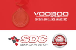 Voodoo13 Honored with the SDC Data Excellence Award